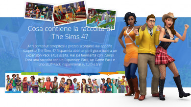 Crea e compra una raccolta per The Sims 4 con Origin