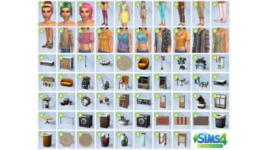 I contenuti di The Sims 4 Giorno di Bucato