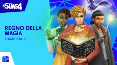 The Sims 4 Regno Della Magia diretta live