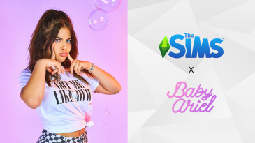 collaborazione tra The Sims e Baby Ariel
