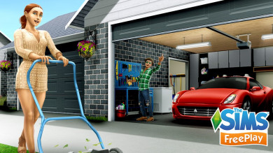 The Sims FreePlay aggiornamento Gran Garage