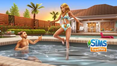 The Sims FreePlay: Aggiornamento Piscina paradisiaca
