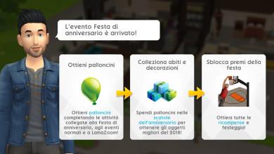 The Sims Mobile festeggia il suo primo anniversario