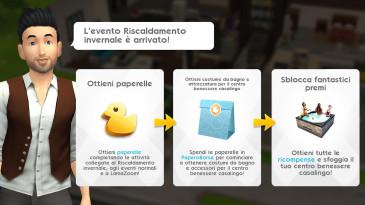 The Sims Mobile:  evento Riscaldamento Invernale