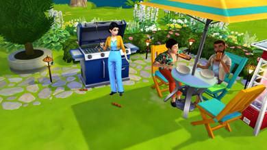 The Sims Mobile: giardino in crescita