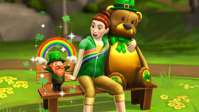 The Sims Mobile evento di San Patrizio