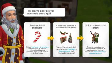 The sims Mobile: i 12 giorni del festival invernale sono qui!