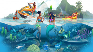 The Sims 4 Vita sull'Isola - Live twitch