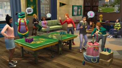 Panoramica completa su The Sims 4 Vita Universitaria