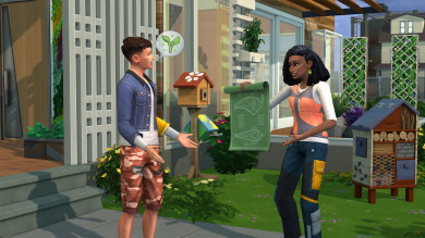 The Sims 4 Vita sull'Isola: carriera progettista civile