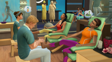 Come creare la vostra Spa in The Sims 4