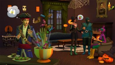 The Sims 4 Accessori da Brivido Stuff sta per arrivare su console