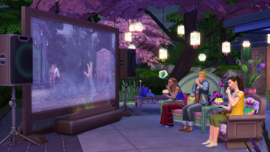 The Sims 4 Serata Cinema Stuff sta per arrivare su console