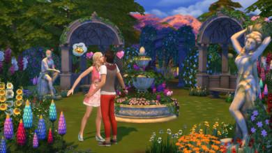 L'amore è nell'aria con The Sims 4 Giardini Romantici Stuff Pack