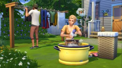 The Sims 4 Giorno di Bucato Stuff Pack sta per arrivare su console