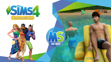 The sims 4 Vita Sull'Isola Review