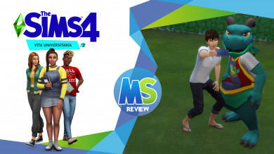 The Sims 4 Vita Universitaria Review
