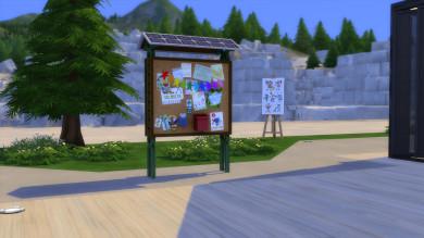 Gli spazi comunitari di The Sims 4 Vita Ecologica