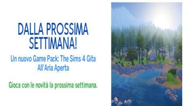 The Sims 4 Gita all'aria aperta - Presto disponibile
