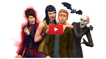The Sims 4 Vampiri Game Pack - trailer