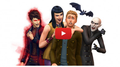 The Sims 4 Vampiri Game Pack - trailer