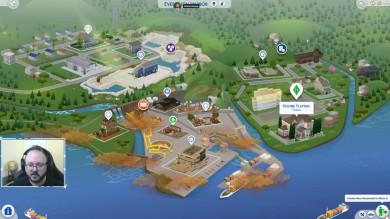 The Sims 4 Vita Ecologica: mappa di Evergreen Harbor