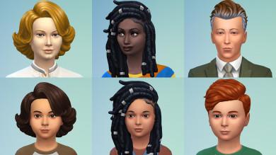 The Sims 4 Portento del Punto: capelli