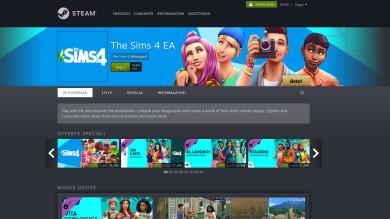 The Sims 4 arriva su Steam