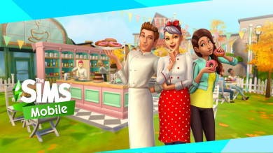 The Sims Mobile aggiornamento bake-off!
