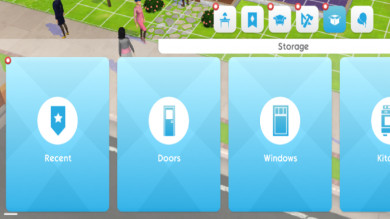 The Sims Mobile, un primo sguardo all'inventario