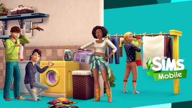 Fai il bucato con The Sims Mobile